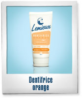 Dentifrice - Orange